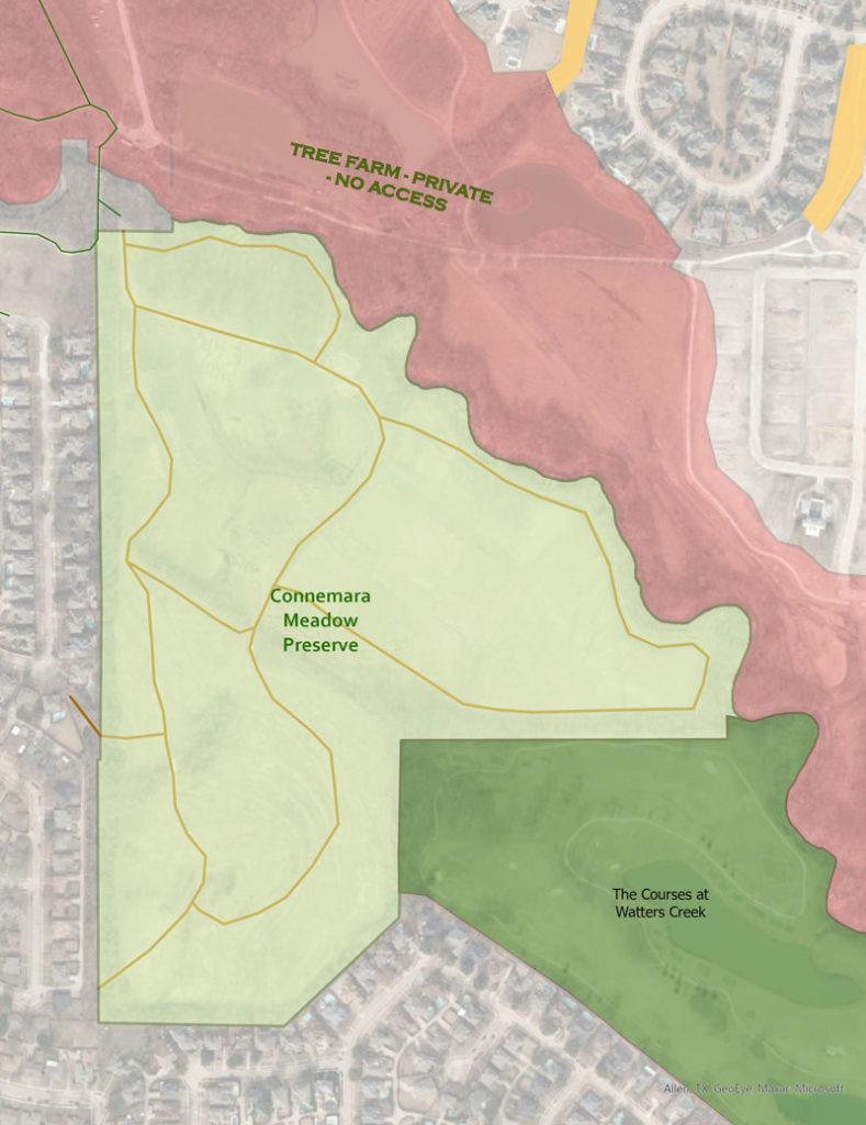 connemara meadow trails map
