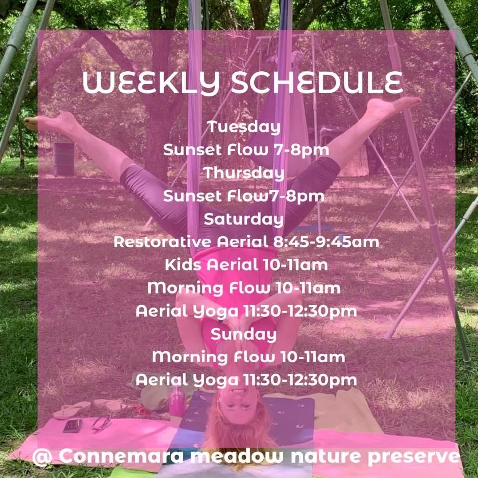 Summer 2021 Yoga in Meadow Update